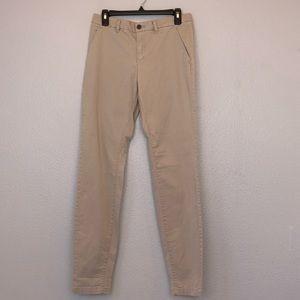 NWT H&M L.O.G.G slim khakis size 6